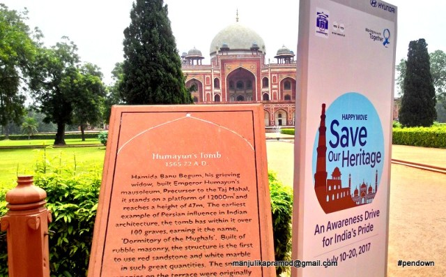 Save Our Heritage, Happy Move, Monuments