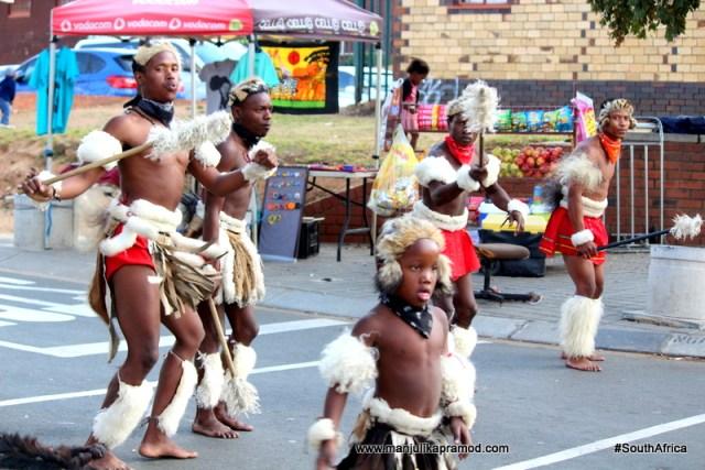 Zulu dance, Soweto, Johannesburg