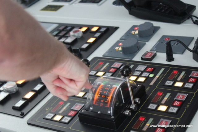 Controls of the ship, Princess Cruise
