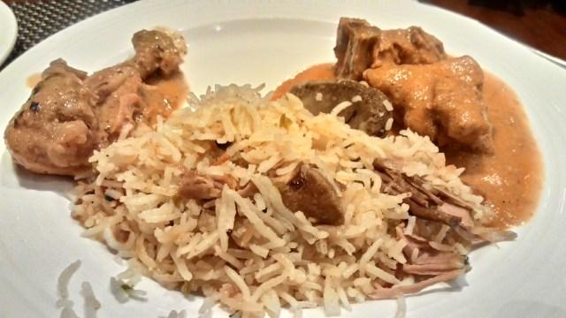 Hyderabadi Biryani is worth a wash down