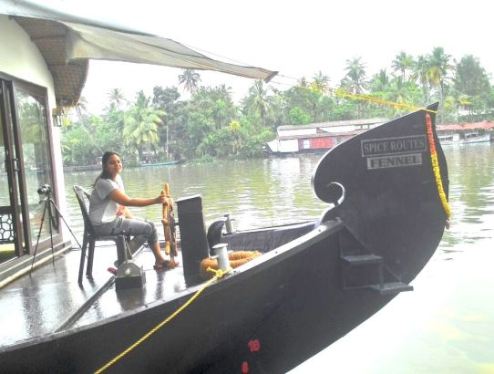 My trip on a houseboat in Alleppey in Kerala