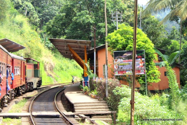Sri Lanka, train journeys