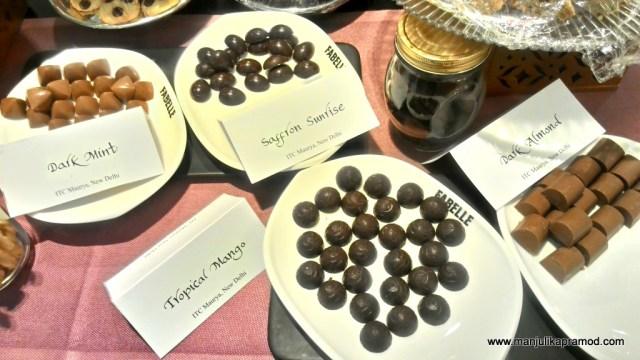 Chocolates classes
