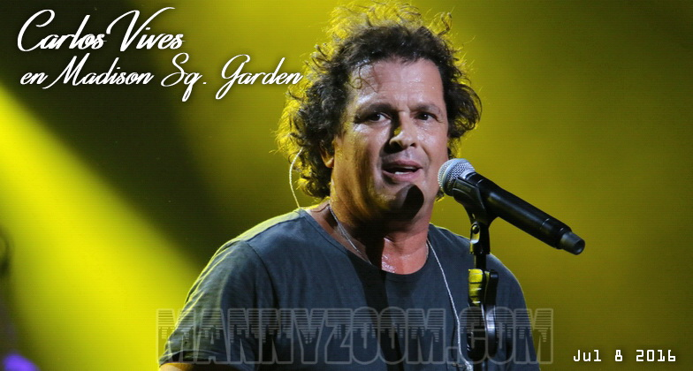 Carlos Vives en Madison Sq Garden 124tagg