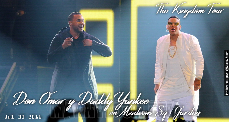 Don Omar y Daddy Yankee en Madison Sq Garden 260tagg