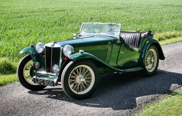 1947 MG TC  **SOLD**