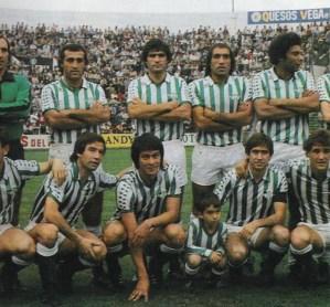 Alineación Betis-Valladolid Liga 1981