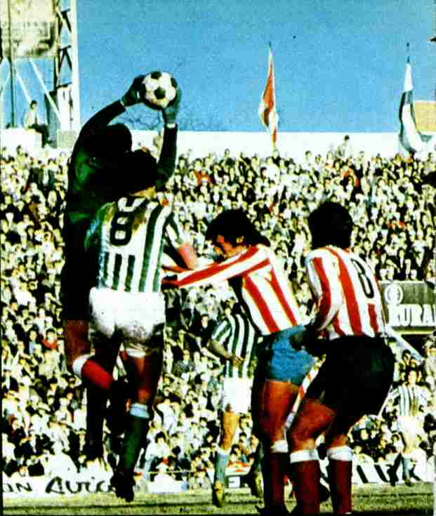 Betis atl tico de madrid liga 1975 historia del real betis for Puerta 19 benito villamarin