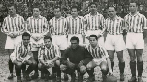 Alineación Arenas Guecho-Betis Liga 1944