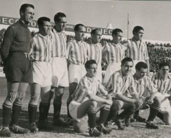 Alineación Betis-Oviedo Liga 1942