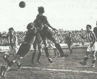 """1934-Diciembre 30-""""Patronato Obrero""""Betis Balompié-1 Donostia Cf-0.-Datos Estadísticos 80Aniversario."""