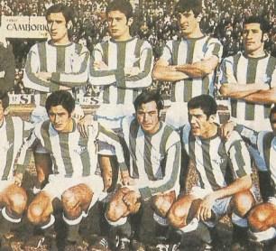 Alineación Betis-Salamanca Liga 1969
