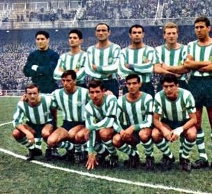 Alineación Real Madrid-Betis Liga 1966