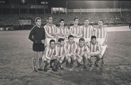 Alineación Sporting Lisboa-Betis amistoso 1963