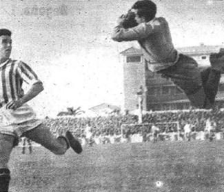 Betis-Sabadell Liga 1954