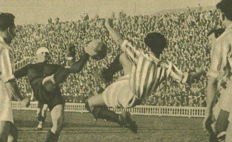 1935-Febrero 24-Les Corts: CF Barcelona-4 Betis Balompié-0.-80Aniversario-Datos Estadísticos.
