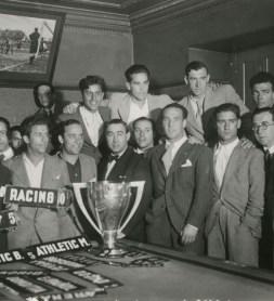 El Betis recoge la Copa en Bilbao 1935