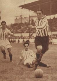 1935-Mayo 26-33CptoEspaña 1/8F Vuelta: Betis Balompié-3 (5)-Athlétic Club-1 (2)-80Aniversario.