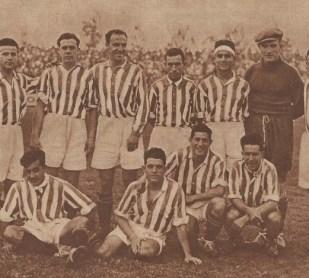 Alineación Sevilla-Betis Camp. Andalucía 1929