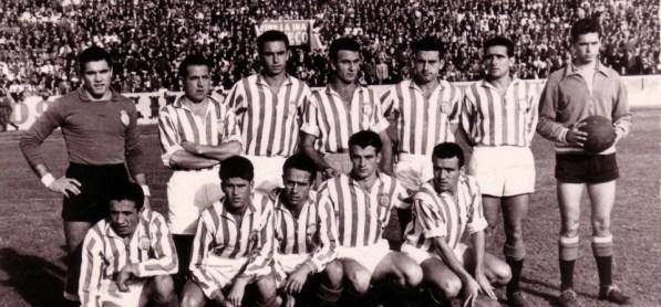 Alineación Betis-Cádiz Liga 1956