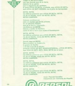 30 años del himno de los Cantores de Híspalis