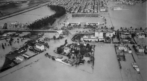 La riada de 1948 en Heliópolis
