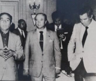 Luis Aragonés suple a Luis Carriega 1981