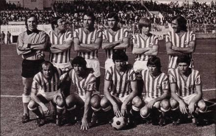 Alineación Getafe-Betis Liga 1978