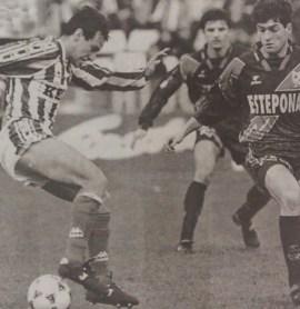 Betis-Rayo Vallecano Liga 1996