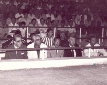 El banquillo bético en 1972