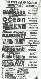 1958-Marzo 02-2DGII.-Real Betis Balompié-2 CD Eldense-1.-58Aniversario.