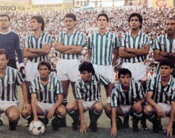 Alineación Betis-Barcelona Final Copa de la Liga 1986
