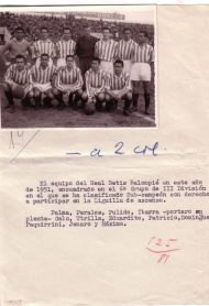 1951-Mayo 27-Fase Ascenso-Grupo II.-Real Betis Balompié-3 Alicante Cf-0.-65Aniversario.