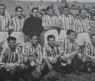 Alineación Betis-Real Córdoba Amistoso 1946