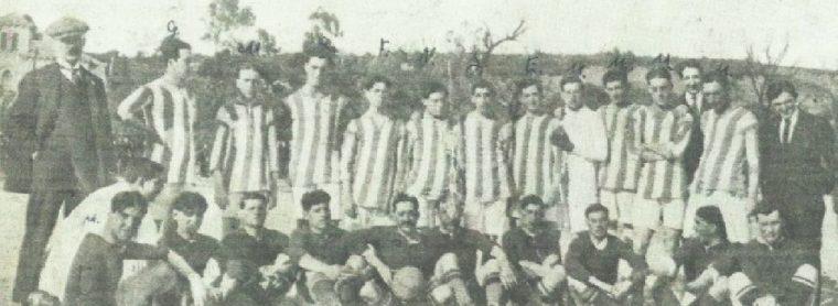 Alineación Recreativo Huelva-Betis Amistoso 1916