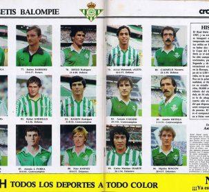 El Betis en Don Balón 1982