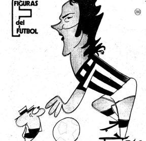 Figuras del Fútbol. Jorge Olmedo