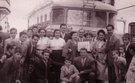 Recibimiento al Betis 1954