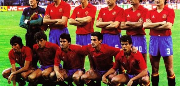 Béticos en la selección. Lyon 1984