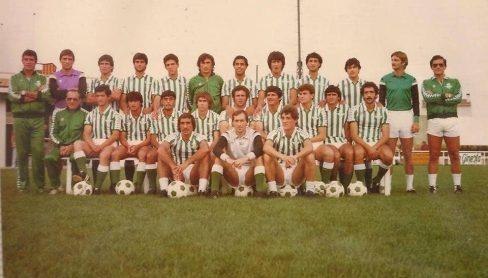 Plantilla del Betis 1982-83