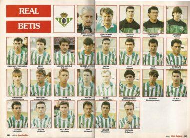 El Betis en Don Balón 1991