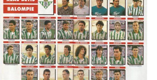 El Betis en Don Balón 1992