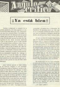 1961-Octubre 24.-¡¡Ya está bien¡¡-Revista Afición Bética VERDE Y BLANCO.
