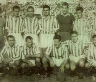 Alineación Betis-Utrera Liga 1952