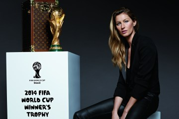Photograph main Gisele Bundchen_ (C) Louis Vuitton Malletier - Kevin O'Brien