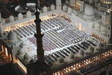 The Sheikh Zayed Grand Mosque is UAEs biggest mosque
