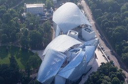 LV's new museum in Paris is a much discussed topic among architects