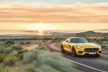 Mercedes-Benz fires one across the Porsche 911's bow with the new AMG GT S