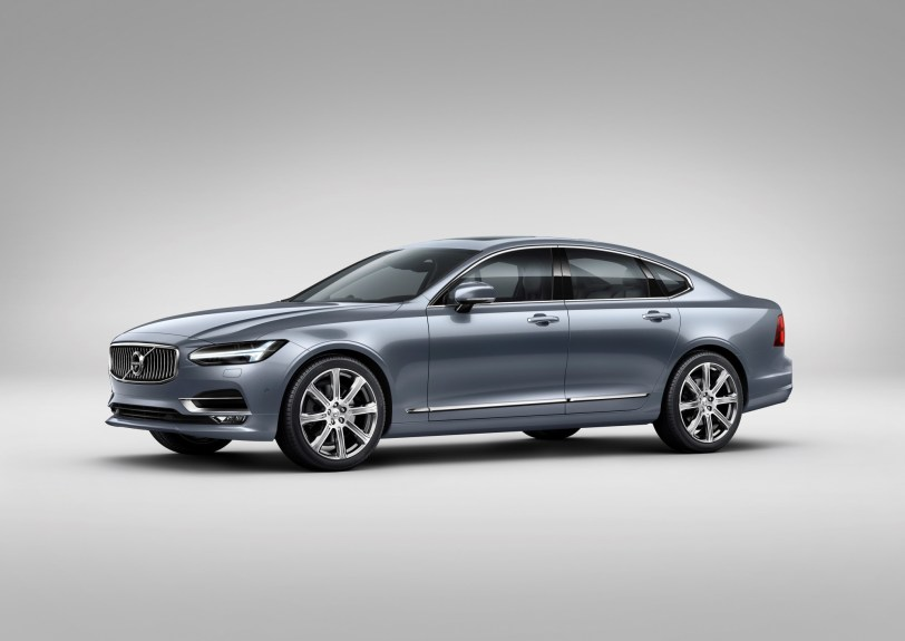 Volvo S90, luxury sedan, premium, S-Class
