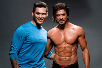 Shahrukh Khan and Prashant Sawant